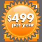 Mailbox Costa Rica at $499 per year
